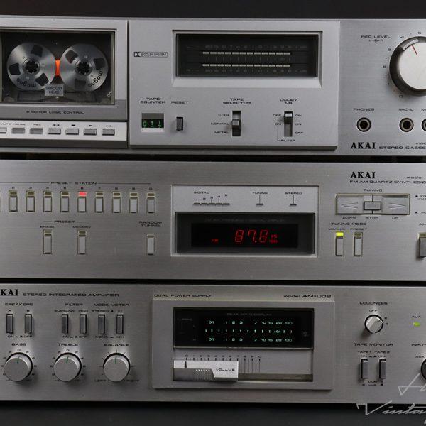 AKAI AM-U02, AT-S55 and CS-F11