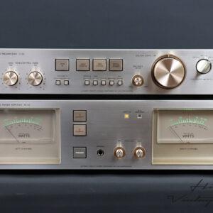 LUXMAN C-02 preamplifier M-02 amplifier