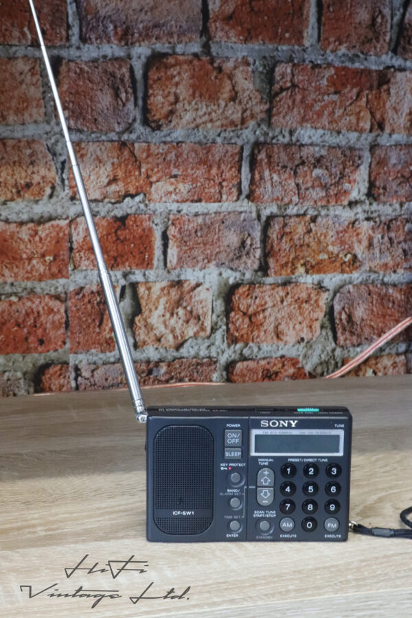 SONY ICF-SW1S Miniature Short-wave Receiver